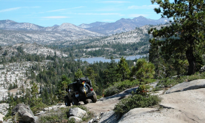 Rubicon ATV Trail in Lake Tahoe