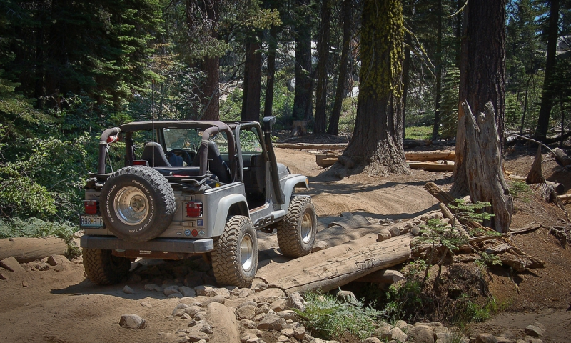 Rubicon Off Road Trail in Tahoe