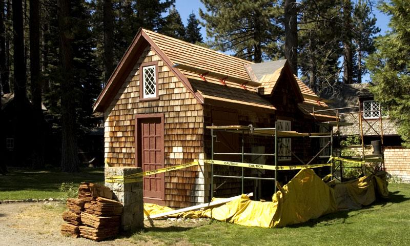 Restoration Project at the Tallac Historic Site at Lake Tahoe
