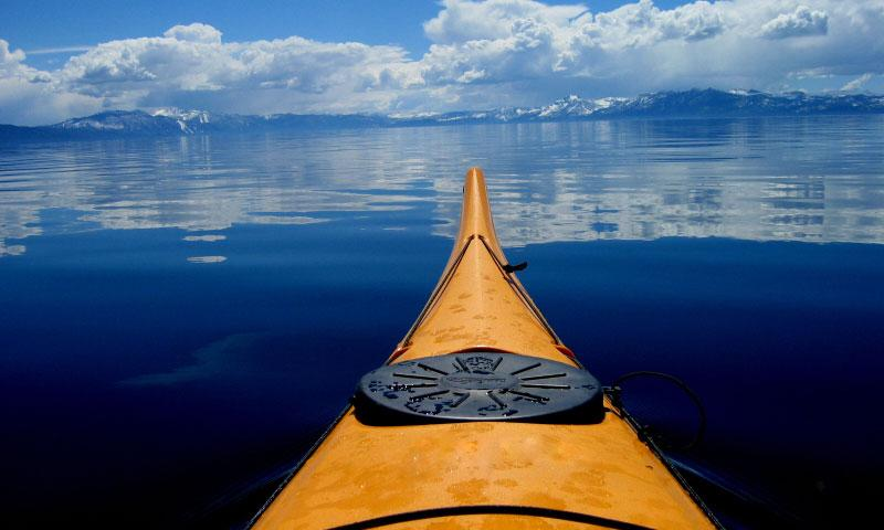 Sea Kayaking on Lake Tahoe