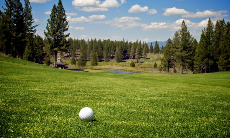 Golf Course at Lake Tahoe