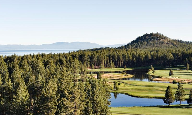Golf Course at South Lake Tahoe