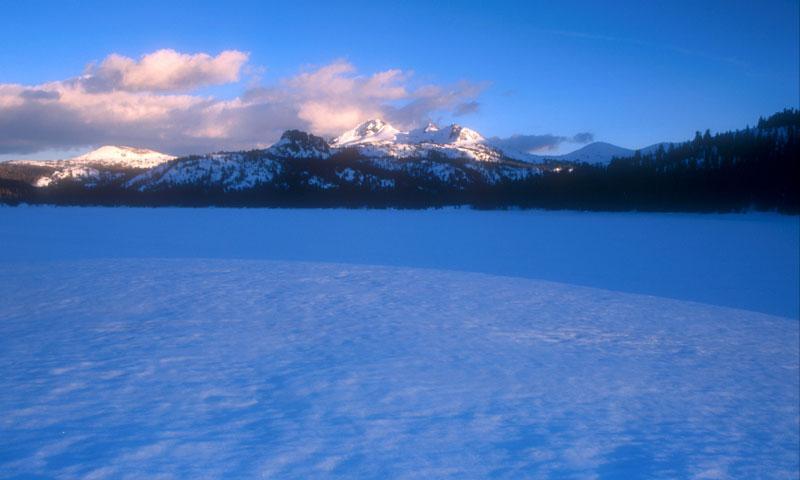 Caples Lake El Dorado National Forest