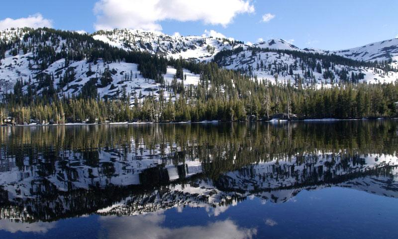 Echo Lake is near Lake Tahoe