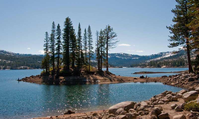 SIlver Lake near Lake Tahoe