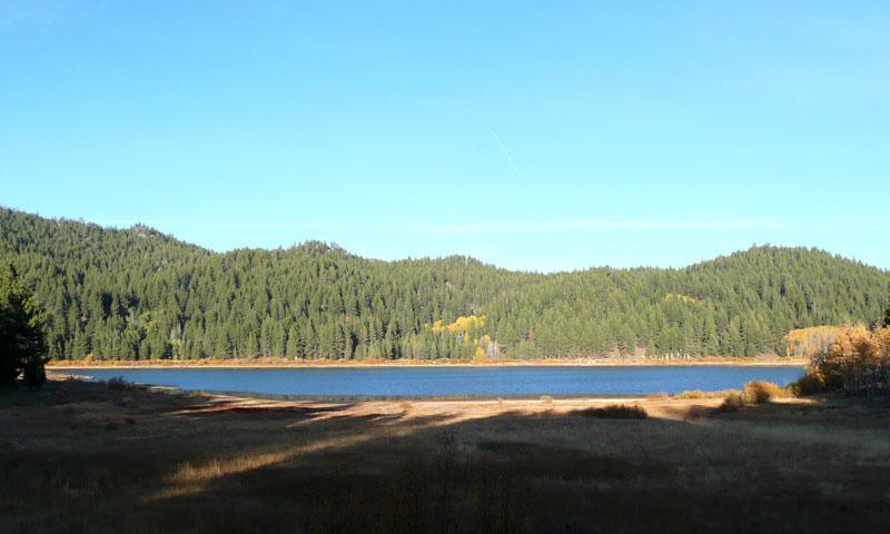 Spooner Lake near Lake Tahoe