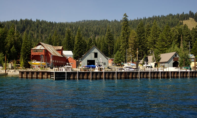 Tahoma is a small community near South Lake Tahoe