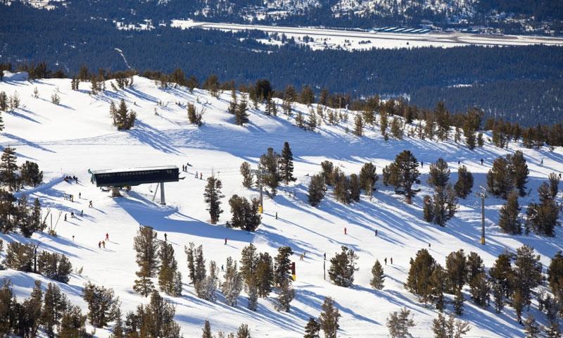 Overlooking Heavenly Ski Resort at Lake Tahoe