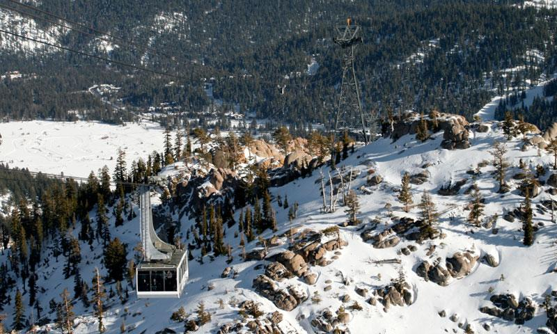 The Cable Car at Squaw Valley Ski Resort