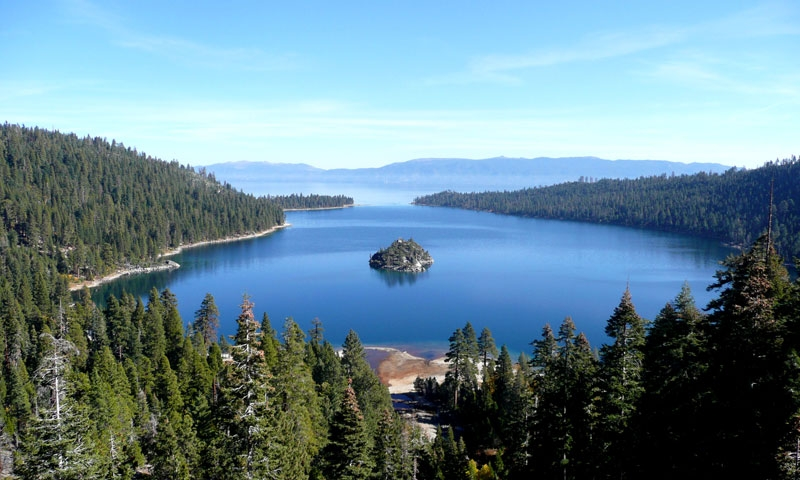 Lake Tahoe California Area Parks National State City