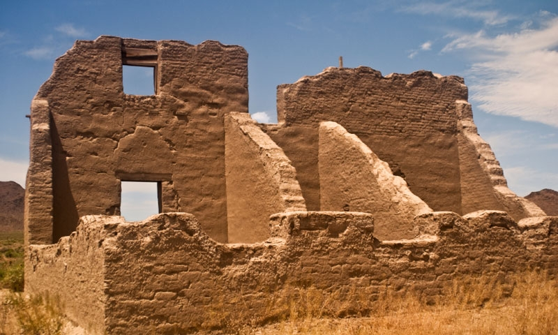 Ruins at Fort Churchill State Park in Nevada