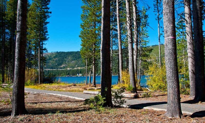 Donner Lake State Park near Lake Tahoe