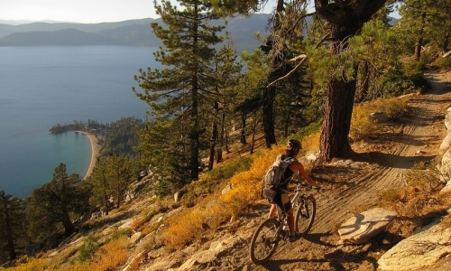 Lake Tahoe Recreation Mountain Biking