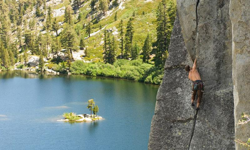 Rock Climbing near Lake Tahoe