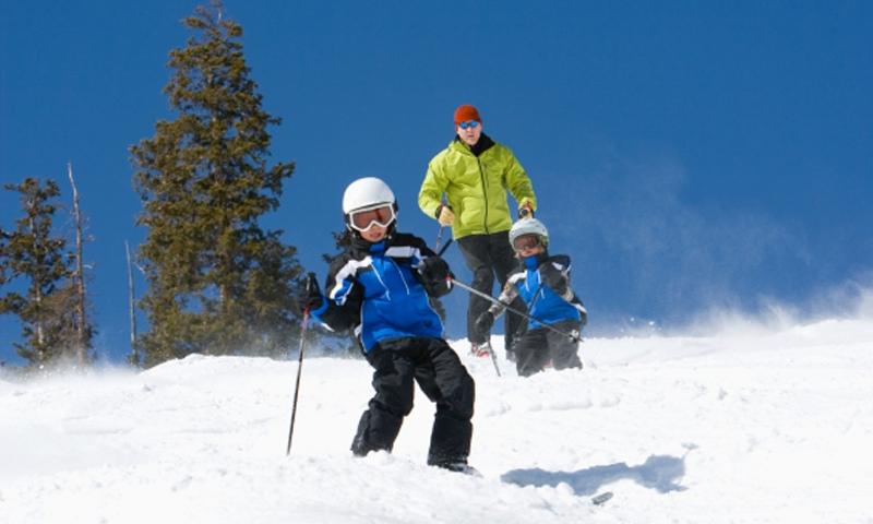 Lake Tahoe Kids Skiing