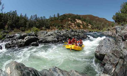 Whitewater Rafting in Tahoe