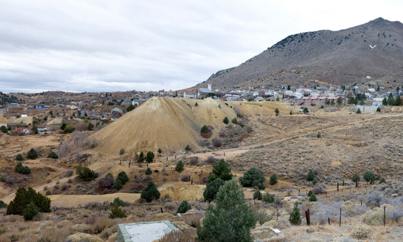 Overlooking Virginia City Nevada