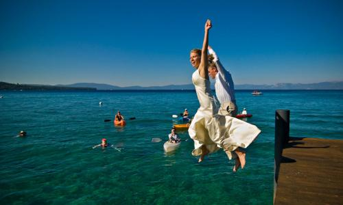 Lake Tahoe California Wedding