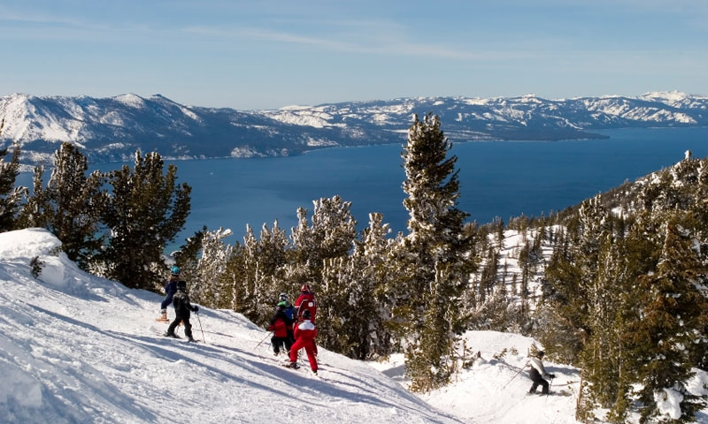 Ski Resort at Lake Tahoe