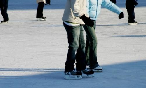 Winter Recreation Ice Skating