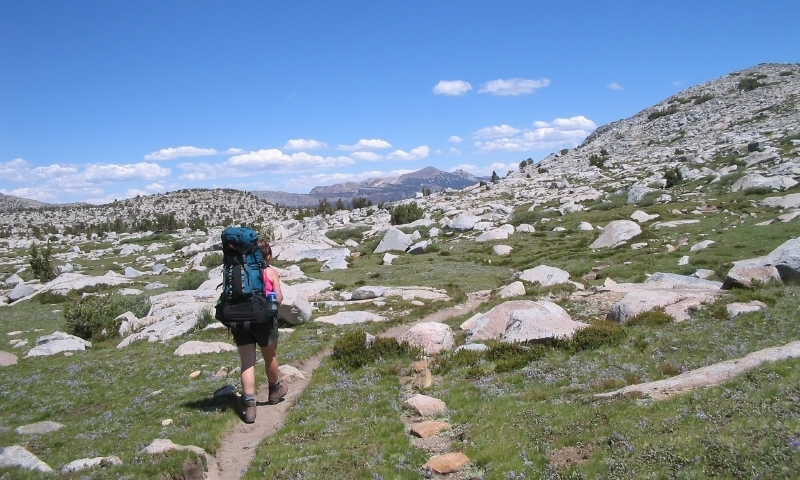 Hiking the Sierra Nevadas in California