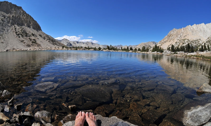 Lake Marjorie along the Pacific Crest Trail