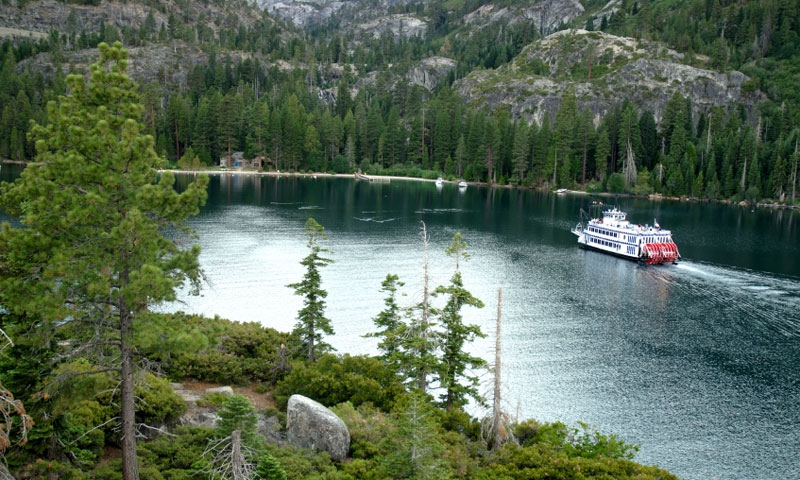 Cruise Boat in Emerald Bay